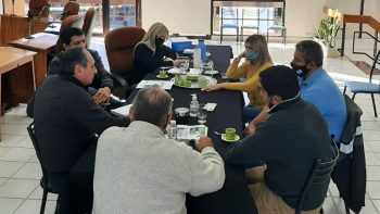 El vicepresidente de AySaM se reunió con concejales de Rivadavia