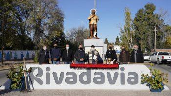 Rivadavia bendijo a su patrono San Isidro Labrador