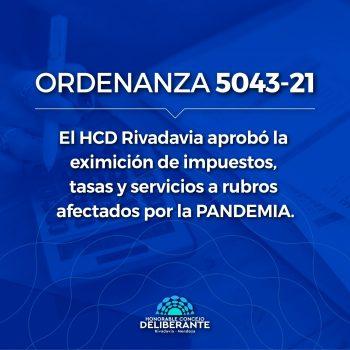 El HCD aprobó la eximición de tasas municipales a rubros afectados por la pandemia