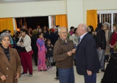 Se inauguró el SUM en el Barrio Rivadavia.