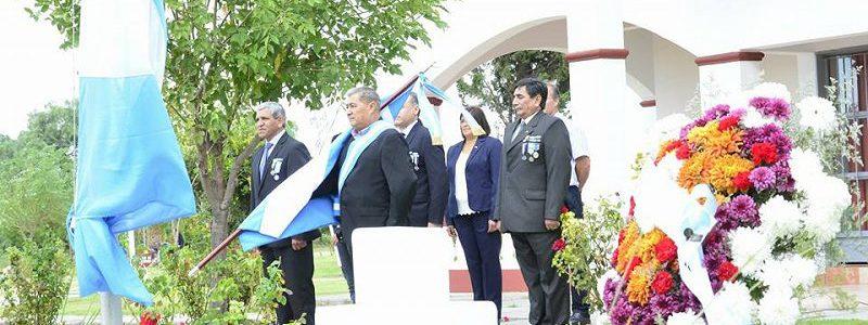 Homenaje a Veteranos de Malvinas