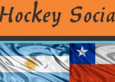 Primer encuentro Binacional de hockey sobre césped en Rivadavia.