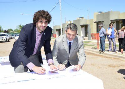 Obras Eléctricas para Rivadavia.
