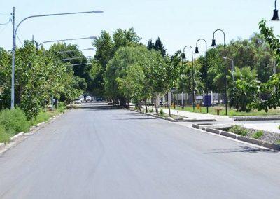 Finalizaron las obras en el Boulevard Sargento Cabral