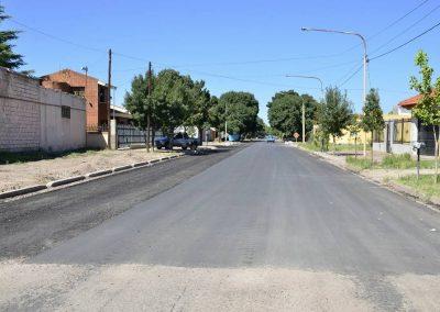Se concluyen las obras de la tercera etapa del Plan Municipal de asfalto