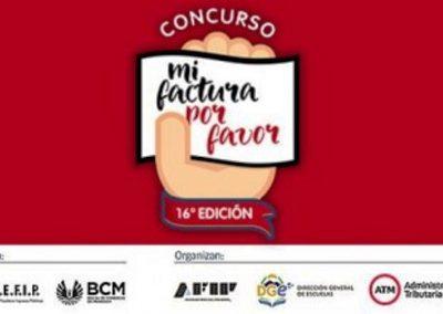 """Concurso """"Mi factura por favor"""""""