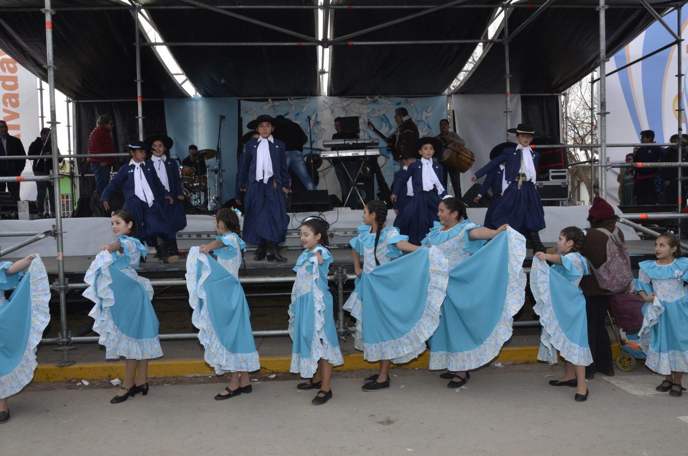 9 de julio en Rivadavia