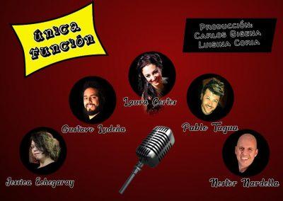 Monólogos de Humor en el Teatro Luis E. Bianchi