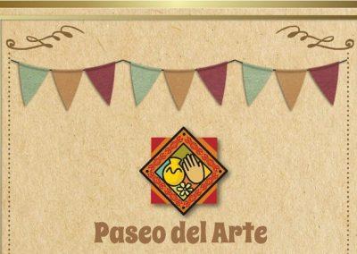 Paseo del Arte en Plaza departamental de Rivadavia