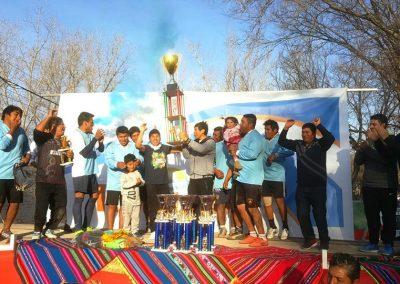 Independencia de Bolivia se celebró en Rivadavia