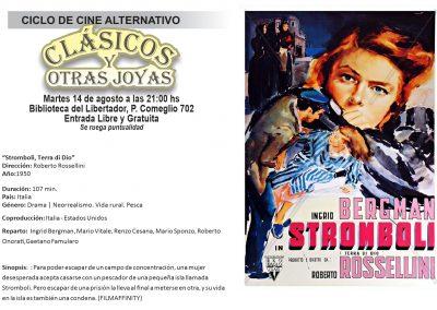 """Ciclo de cine alternativo """"Clásicos y Otras Joyas"""""""