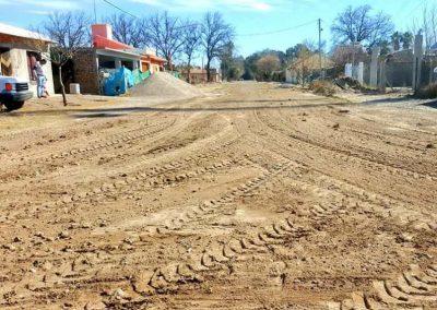 Continúa el arreglo de calles en el distrito Medrano