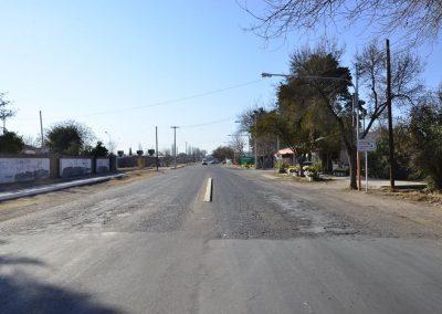Comienza el asfaltado y ciclovía de calle Almirante Brown