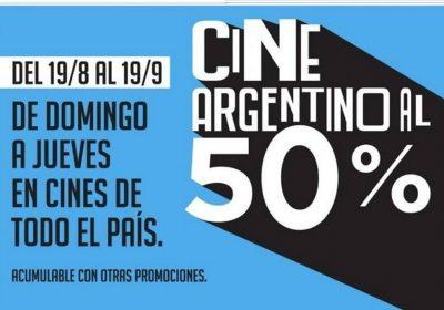 cine argentino al 50
