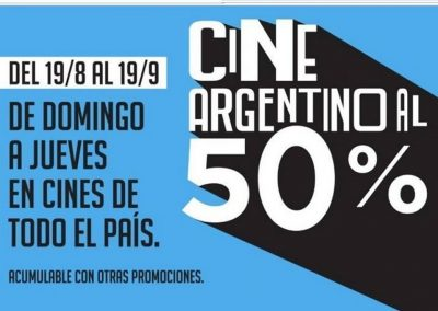 Cine Ducal se suma al mes del cine argentino
