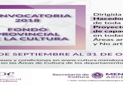 fondo provincial cultura