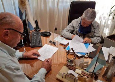 La Municipalidad de Rivadavia firmó comodato con CERPOL