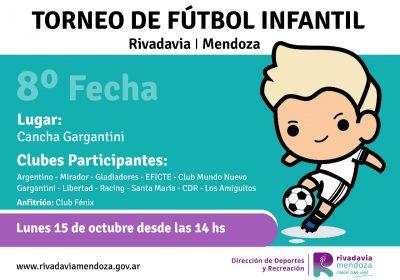 octava fecha futbol infantil