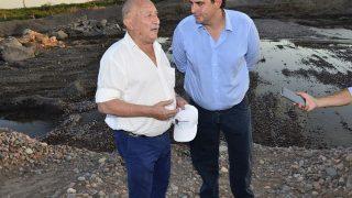 Miguel Á. Ronco junto al Ministro Martín Kerchner